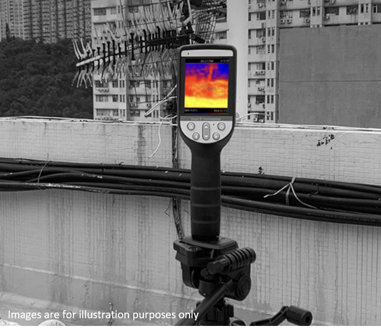 Thermographic Handheld Camera for fever screening